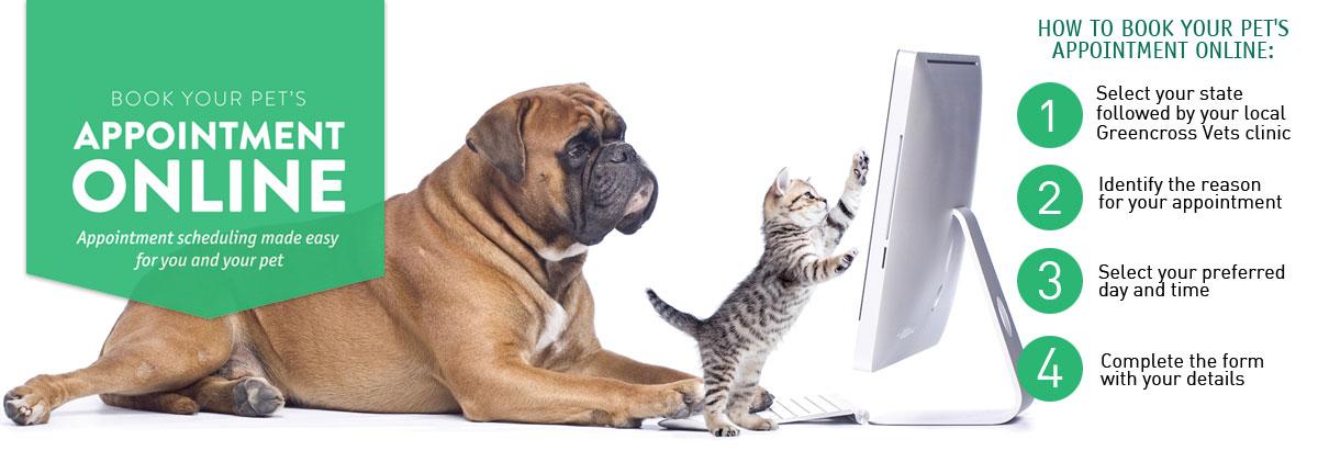 greencross vets online bookings